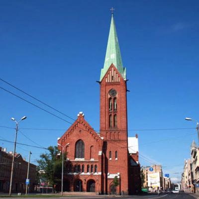 Jaunā Rīgas Svētās Ģertrūdes baznīca